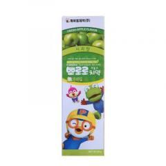 2只装   韩国Pororo宝露露小企鹅苹果味儿童牙膏 90g