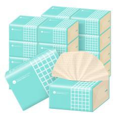 谷斑本色抽纸整箱加厚竹浆纸巾孕妇婴儿家用面巾纸抽餐巾纸 24包