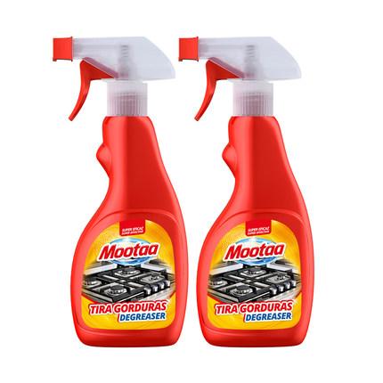 Mootaa/膜太厨房重油污清洁剂2瓶装500ml*2强力除油垢重油油污净
