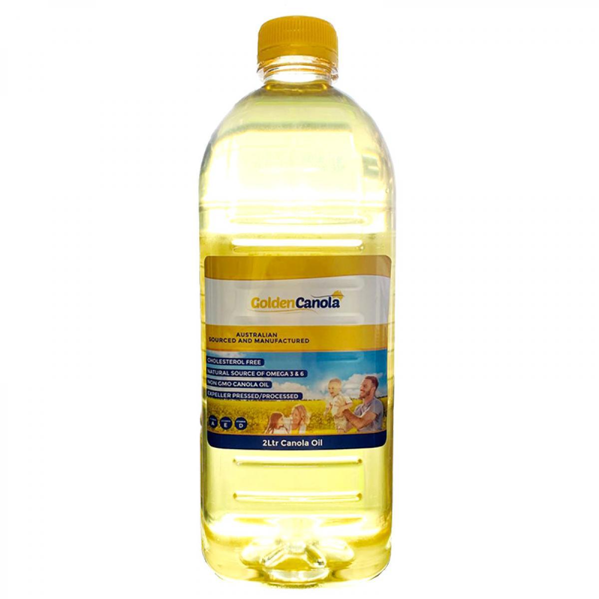 澳大利亚进口金澳拉低芥酸菜籽油 2L保质期至2022年3月